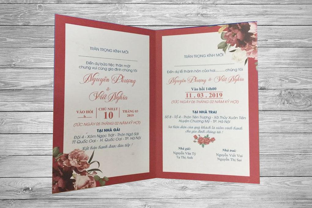 Chi tiết thiệp cưới BB51