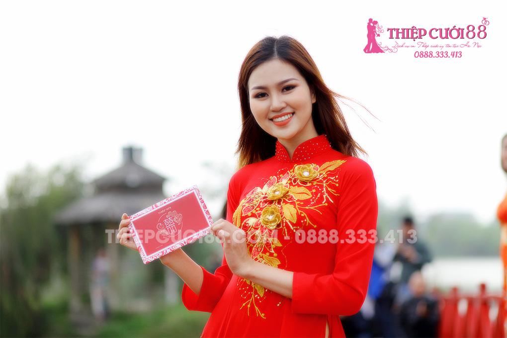 In thiệp cưới giá rẻ tại Hà Nội