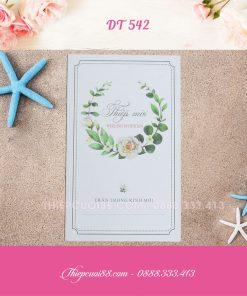 Mẫu thiệp cưới DT542