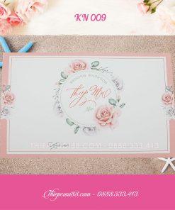 Mẫu thiệp cưới KN 009